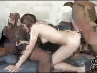 Cum filled wife makes the cuckold worship