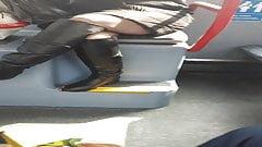upskirt milf on bus