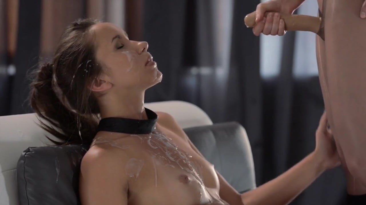 Cums with strap on video