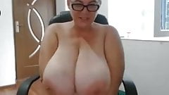 Huge tits matures