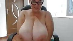 Big tits bbw anal dildo
