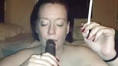 Mature White Woman Smoking And Sucking BBC