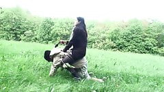 Femdom Ladies use slaves for r