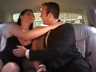 chauffeur don treats Mr Roderick to a willing brunette