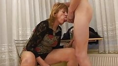 blond mom fucks her little boy