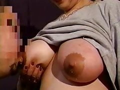 Mom's huge lactating boobs need relief 13