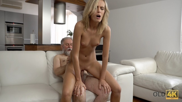 OLD4K. Attractive daddy demonstrates blonde colleen what ardour