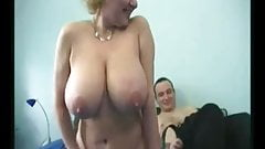 Granny big tits photos