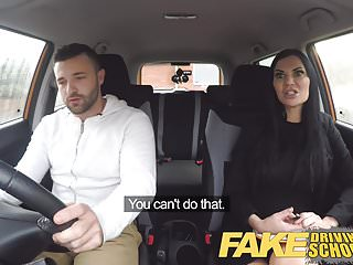 Download video bokep Fake Driving School Jasmine Jae fully naked sex in a car Mp4 terbaru