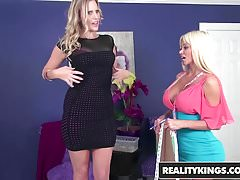 RealityKings - Milf Next Door - Brianna Ray Nikita Von James