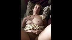 MILF - Spread Wide Masturbation on the deck