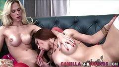 Vixen With a Cock Bangs a Vixen With a Pussy