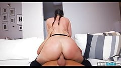 Big White Butt gets Anal