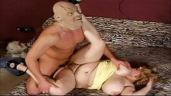 Masked BBW gets fucked