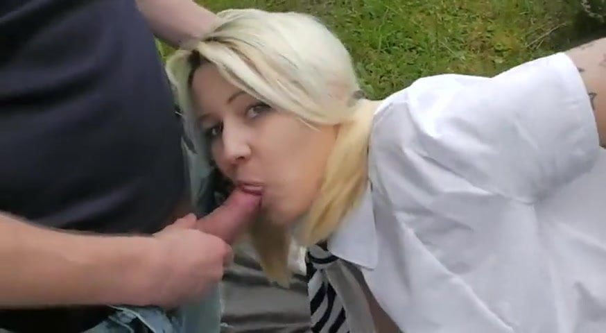 Teen Head #57 (First in the Car then Outdoors)