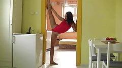Gymnast Masturbation