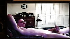 Me masturbating and humping the bed