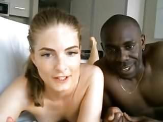 A Mixed Euro Porn Couple On Cam