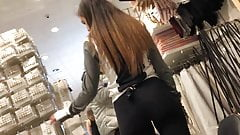 Pretty girl with sweet ASS