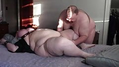 Big Guy And BBW