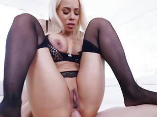 black stocking anal 11