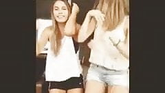 Hot girls dancing in front of a Loser to Humiliate him