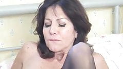 Hot mom seduces young guy