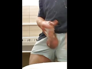 public restroom masturbation
