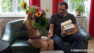 Young Austrian First Time Casting