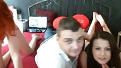 Guy With Two Gals Webcam