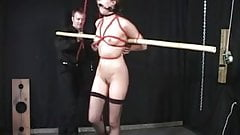 Slave slut teased and punished