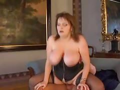Huge saggy tits bbw fucked in black stockings Thumbnail