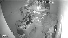 Husband Fucks his wife at night