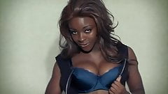 SAY MY NAME - ebony beauty stripteases