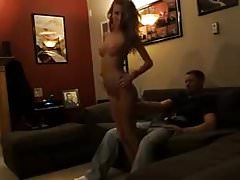 Skinny Blonde Wife Shared for First Time