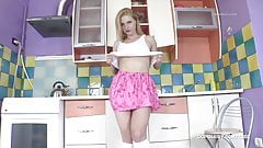 HAIRY MILF MISSFIFI IN THE KITCHEN