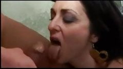 hot thirsty brunette for cock