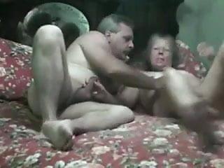 MATURE SLUT SUCKS OLD MANS COCK AND GETS FUCKED