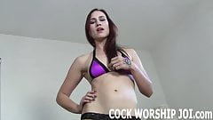 You will worship this big black cock for me JOI