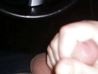 in car hand job