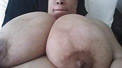 Giant black boobs