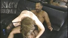 Black dick ramming sexy bimbo