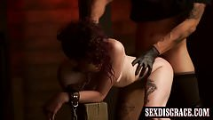 Lydia Black having rough bondage sex