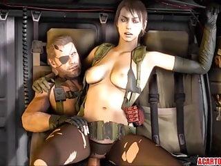 Hot Metal Gear Solid sex compilation