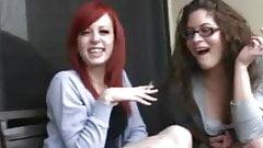 two girls watch you. JOI