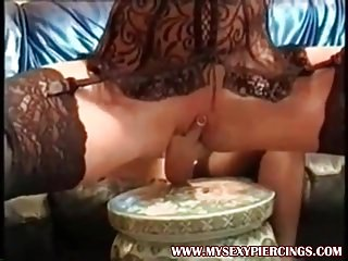 My Sexy Piercings Lesbian grannies with pierced pussies