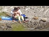 Beach Voyeur - couple 2- part 1