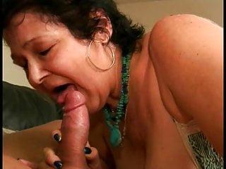 A orny old grandma still love to suck cock
