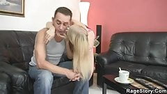 He bangs her real rough!