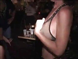 Girls flashing at fantasy fest pt2